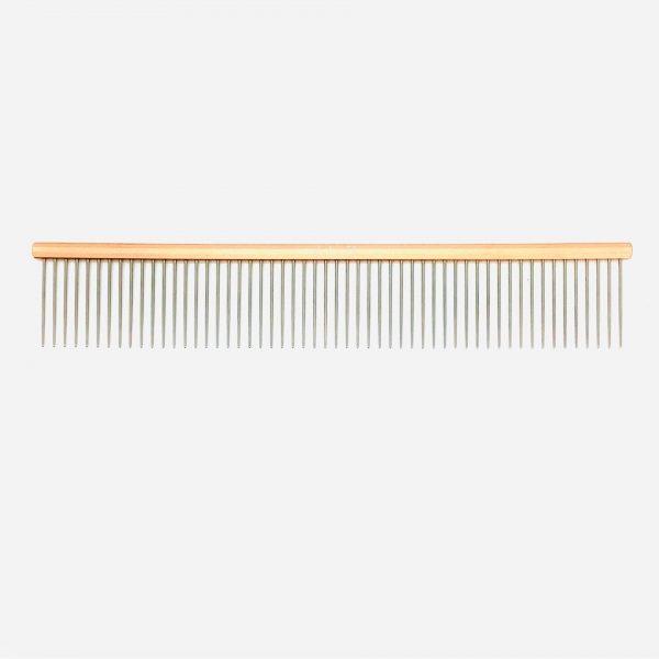"""Coarse Orange Pet Grooming Comb 8.5"""" Lightweight"""