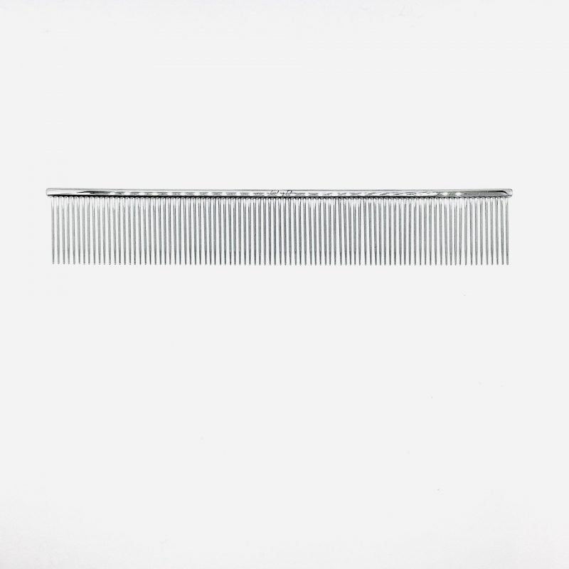 "9"" Fine Greyhound Tapered Comb"