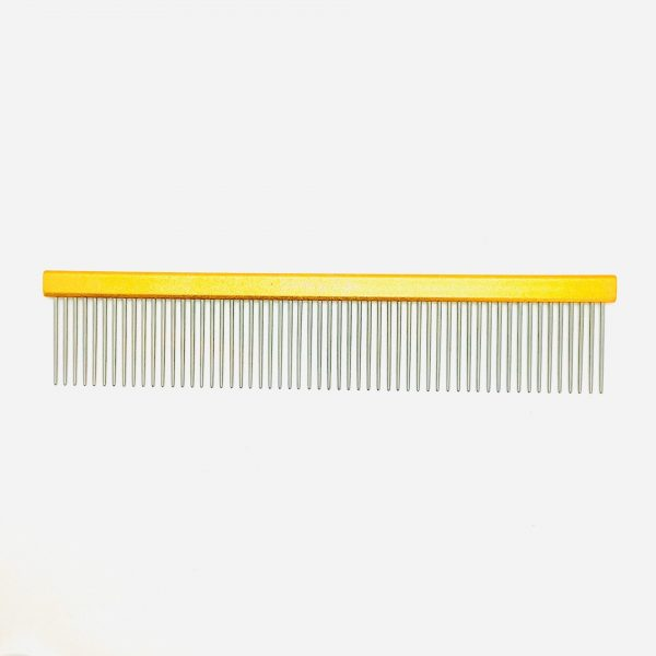 """9"""" Gold Aluminum Coarse Comb"""