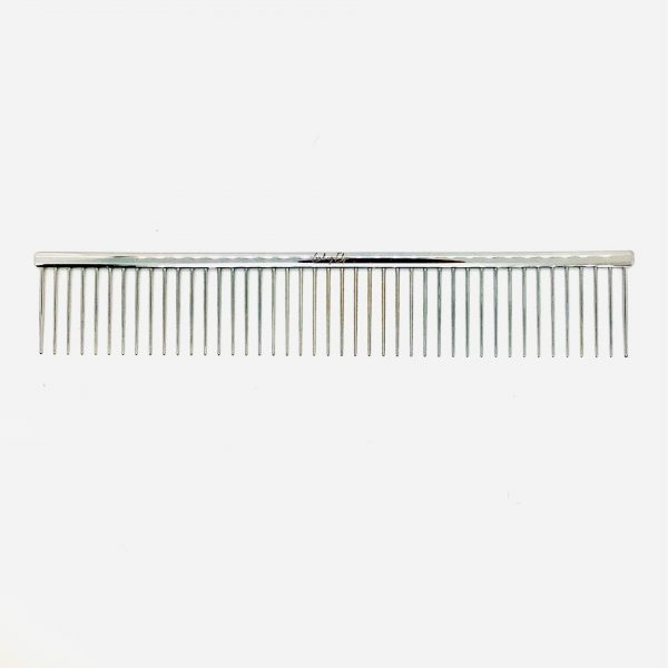 """Coarse Poodle Grooming Comb 8.5"""" with 1"""" Pins"""