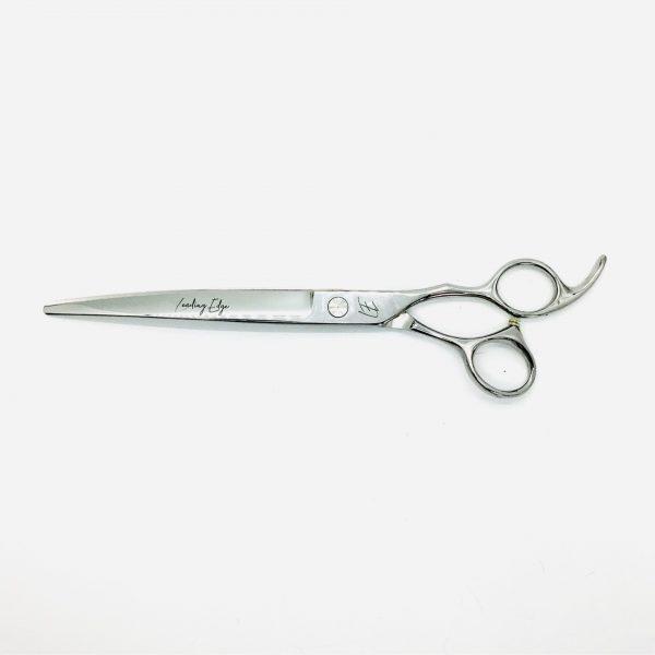 "Professional dog grooming scissor, 8"" curve"