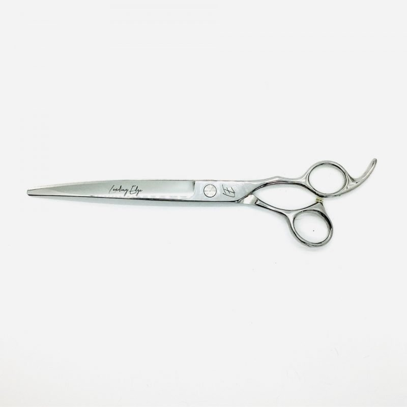 "Professional dog grooming scissor, 8"" curve"