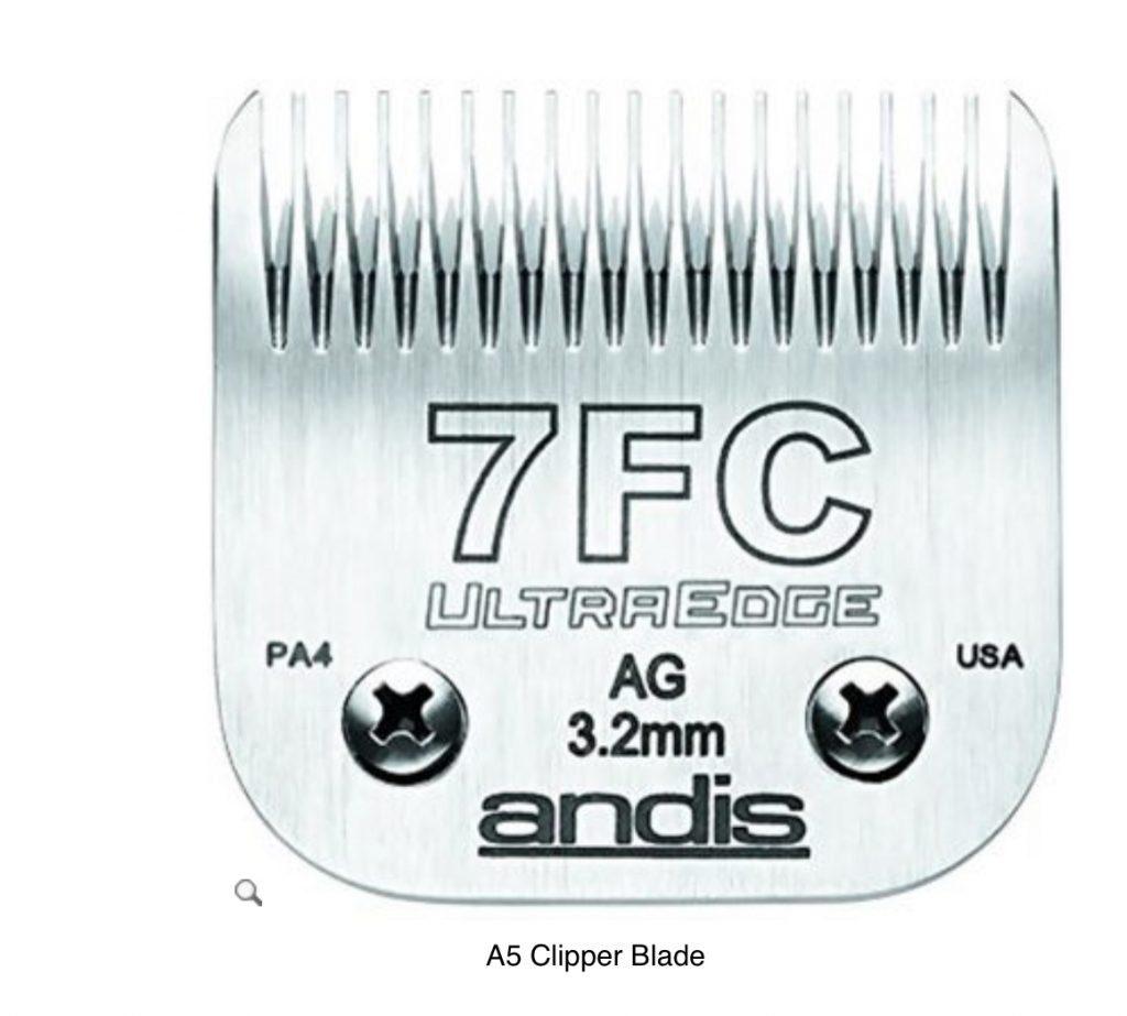 Andis 7FC Clipper Blade