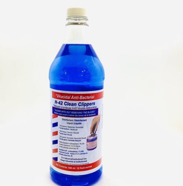 Virucidal Anti-Bacterial H-42 Clean Clippers 32oz