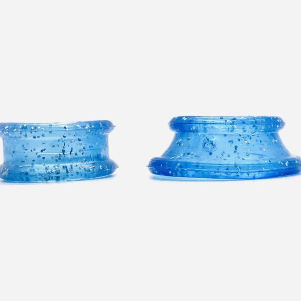 Roseline Finger Inserts for Scissors - Sparkling Light Blue