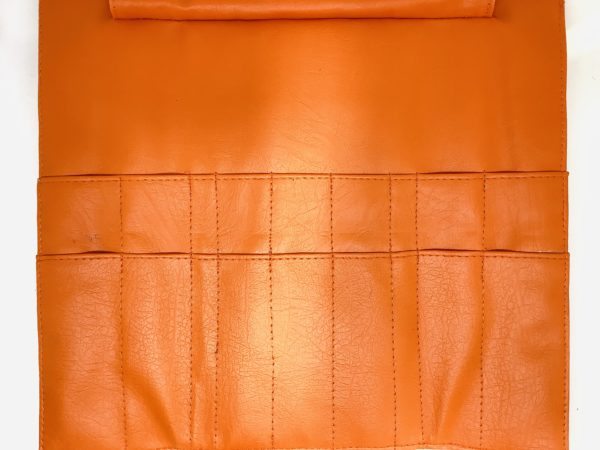 Scissor Roll Up for Grooming Tools Holds 14 Pce - Orange 2