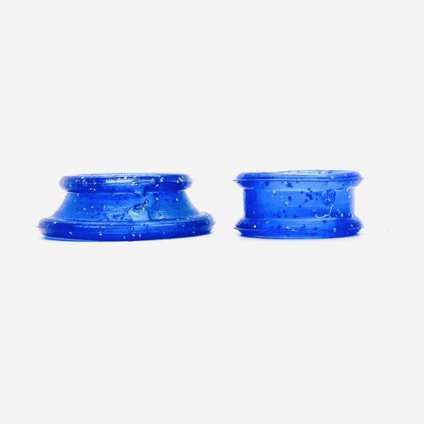 Roseline Finger Inserts for Scissors - Sparkling Dark Blue